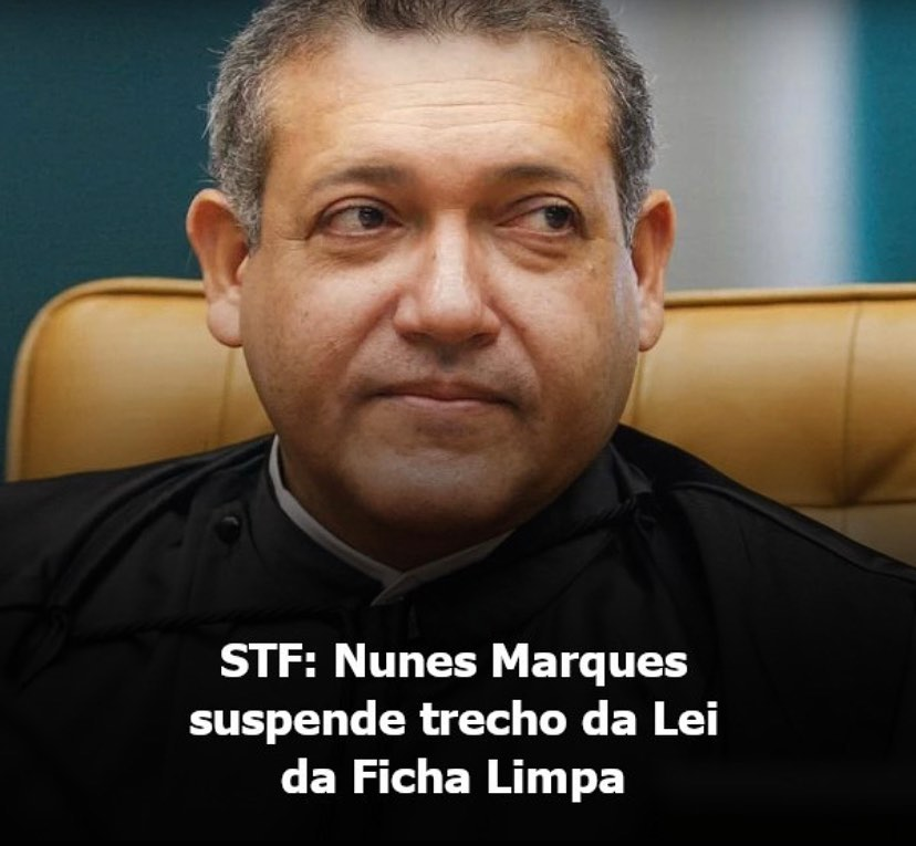 O Ministro Nunes Marques Do Supremo Tribunal Federal STF